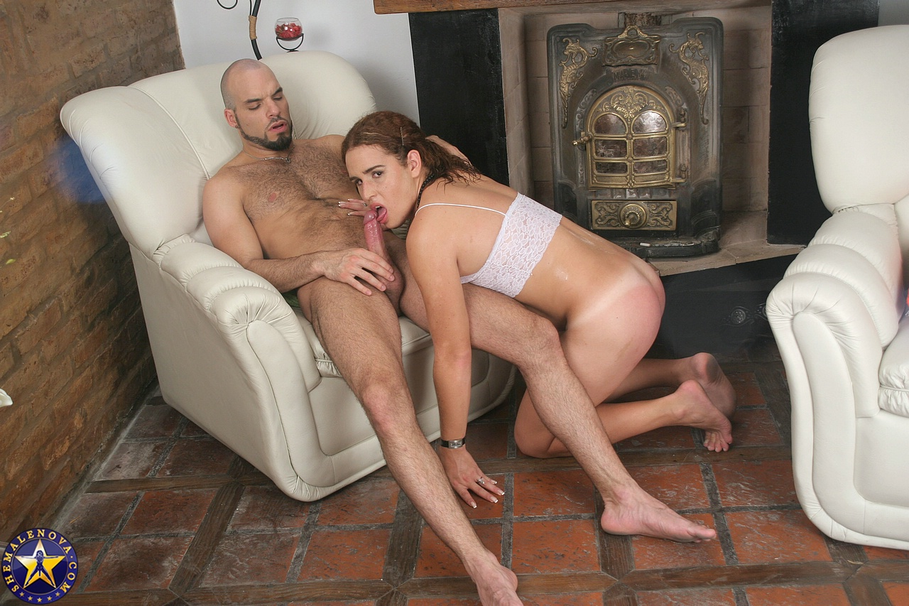 Amateur transexual and boyfriend